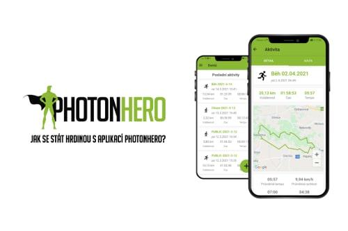 Jak se stát hrdinou s aplikací PhotonHero?