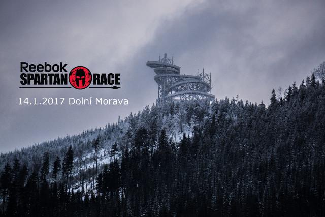 Spartan Race Winter Dolní Morava 2017