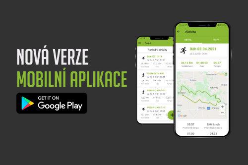 Vylepšení mobilní aplikace
