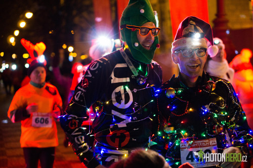 Christmas Night Run Praha 2017