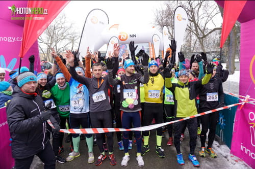 innogy Winter Run Olomouc 2018
