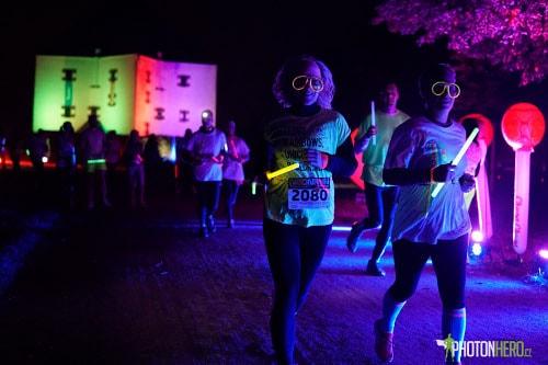Neon Run Praha 2018
