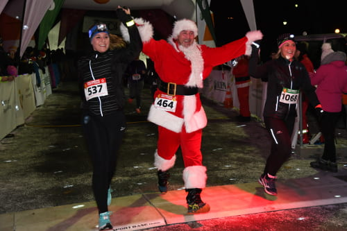 ČEPS Christmas Night Run Olomouc 2018