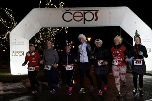 ČEPS Christmas Night Run Most 2018